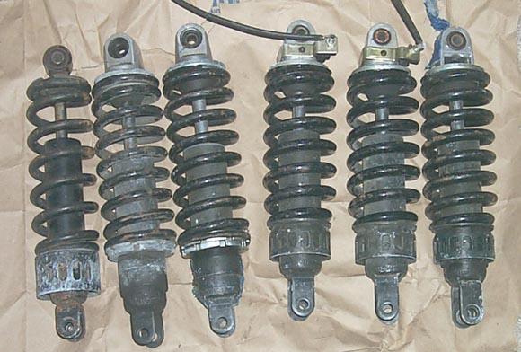 Rear shock swap information